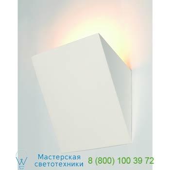 Marbel 148017 GL 105 TORCH светильник настенный для лампы E14 11Вт макс., белый гипс, SLV