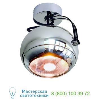 Marbel 149042 LIGHT EYE SPOT светильник накладной для лампы ES111 75Вт макс., хром, SLV