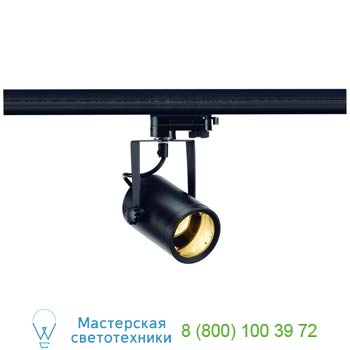 Marbel 153850 3Ph, EURO SPOT GU10 светильник для лампы GU10 25 Вт макс (575360)., черный, SLV