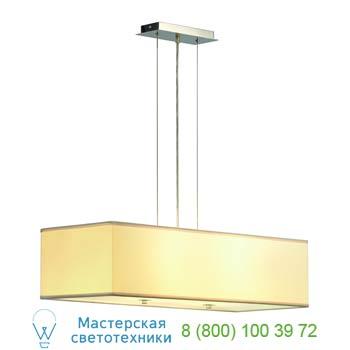 Marbel 155292 SOPRANA PD-1 светильник подвесной для 4-х лампы E27 по 60Вт макс., хром/ белый, SLV