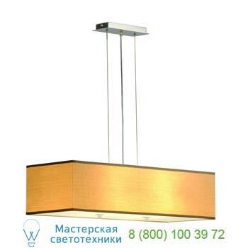 Marbel 155293 SOPRANA PD-1 светильник подвесной для 4-х лампы E27 по 60Вт макс., хром/ бежевый, SLV