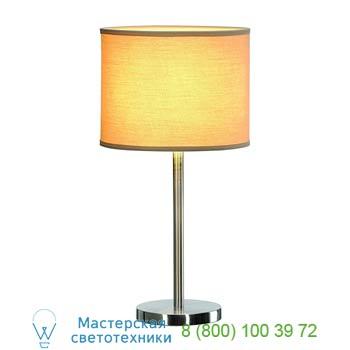 Marbel 155353 SOPRANA ТL-2 светильник настольный для лампы E27 60Вт макс., серый металлик/ бежевый, SLV