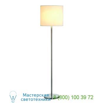 Marbel 155362 SOPRANA SL-2 светильник напольный для лампы E27 60Вт макс., серый металлик/ белый, SLV