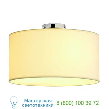 Marbel 155372 SOPRANA CL-1 светильник потолочный для 3-х ламп E27 по 60Вт макс., хром/ белый, SLV