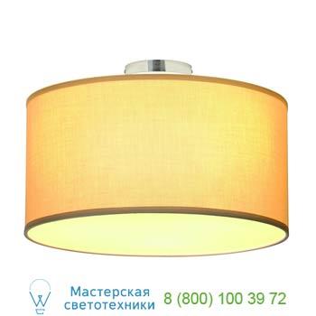 Marbel 155373 SOPRANA CL-1 светильник потолочный для 3-х ламп E27 по 60Вт макс., хром/ бежевый, SLV