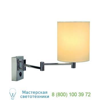 Marbel 155621 SOPRANA WL-1 светильник настенный для лампы E27 40Вт макс., хром/ белый, SLV