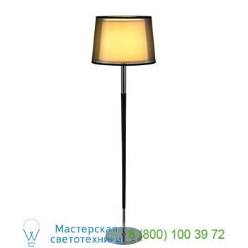 Marbel 155652 BISHADE SL-1 светильник напольный для лампы E27 40Вт макс., черный/ белый/ хром, SLV