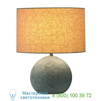 Marbel 155700 SOPRANA SOLID TL-1 светильник настольный для лампы E27 40Вт макс., серый бетон/ серо-бежевый,