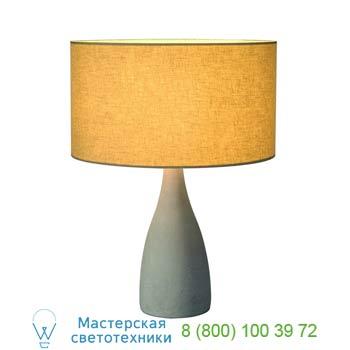 Marbel 155701 SOPRANA SOLID TL-2 светильник настольный для лампы E27 40Вт макс., серый бетон/ серо-бежевый,