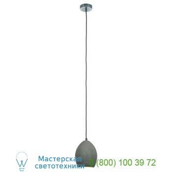 Marbel 155710 SOPRANA SOLID PD-1 светильник подвесной для лампы E14 25Вт макс., серый бетон, SLV