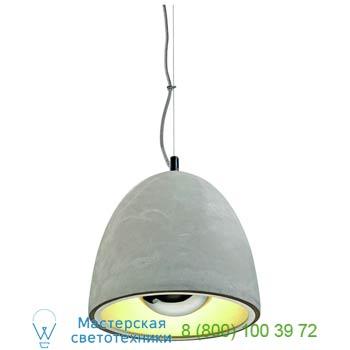 Marbel 155711 SOPRANA SOLID PD-2 светильник подвесной для лампы E27 60Вт макс., серый бетон, SLV