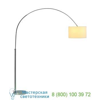 Marbel 155723 SOPRANA BOW светильник напольный для лампы E27 60Вт макс., хром/ белый, SLV
