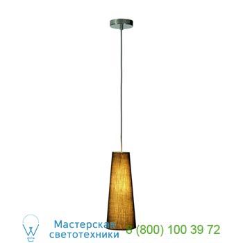 Marbel 155760 SOPRANA CONE PD-1 светильник подвесной для лампы E14 40Вт макс., хром/ черный, SLV