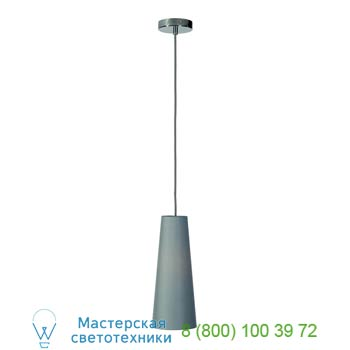 Marbel 155764 SOPRANA CONE PD-1 светильник подвесной для лампы E14 40Вт макс., хром/ серый, SLV