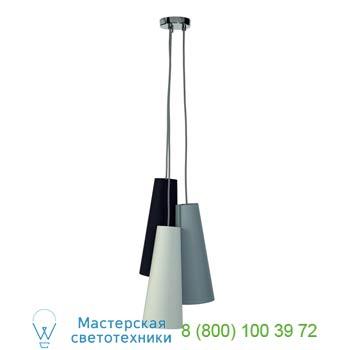 Marbel 155770 SOPRANA CONE PD-2 светильник подвесной для 3-х ламп E14 по 40Вт макс., хром/ черный/ белый /с