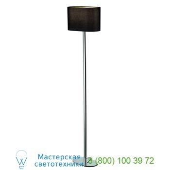 Marbel 155850 SOPRANA OVAL SL-1 светильник напольный для лампы E27 60Вт макс., хром/ черный, SLV