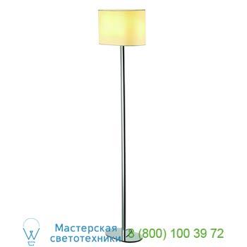 Marbel 155851 SOPRANA OVAL SL-1 светильник напольный для лампы E27 60Вт макс., хром/ белый, SLV