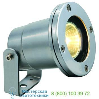 Marbel 227500 NAUTILUS IP67 светильник IP67 для лампы MR16 35Вт макс., кабель 3 м, серебристый, SLV