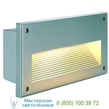 Marbel 229062 BRICK DOWNUNDER E14 светильник встраиваемый IP44 для лампы E14 40Вт макс., серебристый, SLV