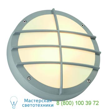 Marbel 229084 BULAN GRID светильник накладной IP44 для 2-х ламп E27 по 25Вт макс., серебристый, SLV
