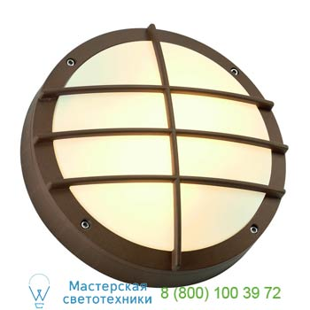 Marbel 229087 BULAN GRID светильник накладной IP44 для 2-х ламп E27 по 25Вт макс., бронза, SLV