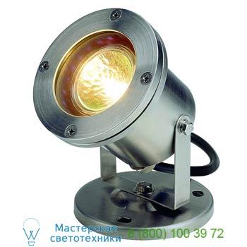Marbel 229090 NAUTILUS MR16 светильник IP67 для лампы MR16 35Вт макс., кабель 1.5 м, сталь, SLV