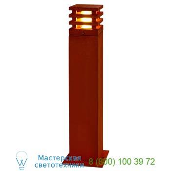 Marbel 229421 RUSTY SQUARE 70 светильник IP55 для лампы E27 ELD 11Вт макс., бурый, SLV