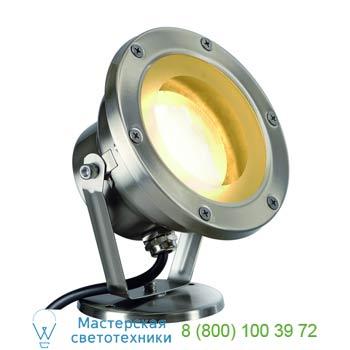 Marbel 229730 NAUTILUS GX53 светильник IP67 для лампы GX53 11 Вт макс., сталь, SLV