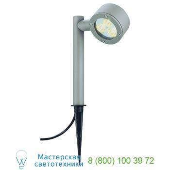 Marbel 230374 SITRA EARTH SPIKE светильник IP54 для лампы GX53 9Вт макс., серебристый, SLV