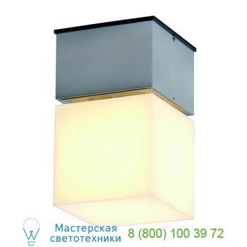Marbel 230716 SQUARE C светильник потолочный IP44 для лампы ELD E27 20Вт макс., матирован. алюминий/ белый,