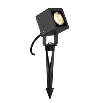 Marbel 231035 NAUTILUS SQUARE LED Strahler, eckig, anthrazit, 6W, 3000K, SLV
