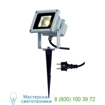 Marbel 231102 LED OUTDOOR BEAM 10W светильник IP65 с COB LED 10Вт, 750lm, 3500K, серебристый, SLV