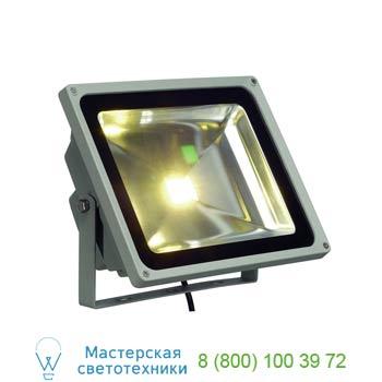 Marbel 231122 LED OUTDOOR BEAM 50W светильник IP65 с COB LED 50Вт, 4500lm, 3000K, серебристый, SLV