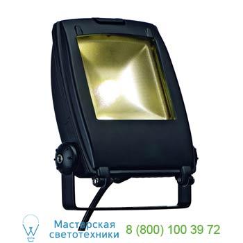 Marbel 231152 LED FLOOD LIGHT 10W светильник IP65 с SMD LED 10Вт, 3300K, 540lm, черный, SLV