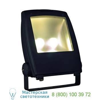 Marbel 231173 LED FLOOD LIGHT 80W, schwarz, 3000K, 120°, SLV