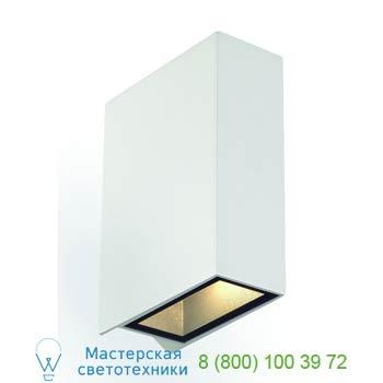 Marbel 232471 QUAD 2 светильник настенный с 2-мя PowerLED по 3Вт, 3000K, белый, SLV