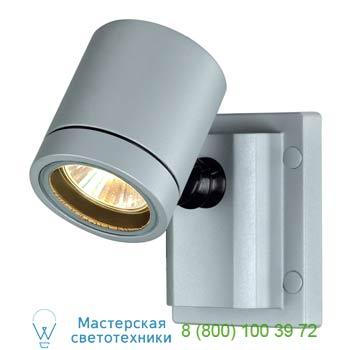 Marbel 233104 NEW MYRA WALL светильник настенный для лампы GU10, макс. 50Вт, IP55, серебристый, SLV
