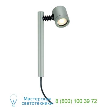 Marbel 233174 NEW MYRA 1, корпус светильника IP44 для LED лампы GU10 макс. 4Вт , серебристый, SLV