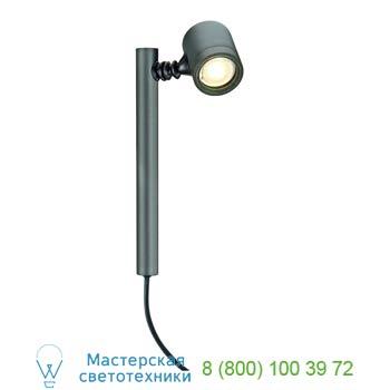 Marbel 233175 NEW MYRA 1, корпус светильника IP44 для LED лампы GU10 макс. 4Вт , антрацит, SLV