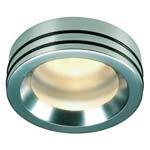 111432 НЕ ЗАКАЗЫВАТЬ DORU светильник встраиваемый IP65 для лампы MR16 20Вт макс., алюминий / стекло