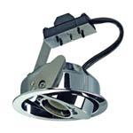 112852 TWISTER, ES111 MODULE светильник встраиваемый для лампы ES111 75Вт макс., хром, SLV