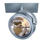 113406 KALU RECESSED 1 светильник встраиваемый для лампы QRB111 50Вт макс., алюминий, SLV