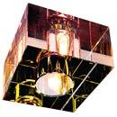 114928 SLV DICHRO CUBE светильник встр. G9 40Вт макс., стекло дихроичное кристаллическое